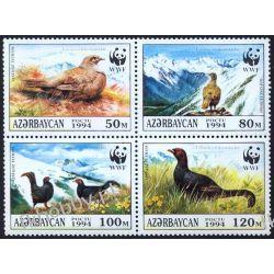 Azerbejdżan 1994 Mi 161-64 ** WWF Ptaki Góry Kolekcje