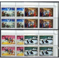 Zair 1980 Mi 703-06 x4 ** Boże Narodzenie Anioł Koń Kolekcje