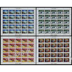 Zair 1980 Mi ark 703-06 ** Boże Narodzenie Anioł Koń Kolekcje
