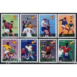 Zair 1981 Mi 722-29 ** Piłka Nozna Sport Kolekcje