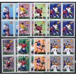 Zair 1981 Mi 722-29 x4 ** Piłka Nozna Sport Kolekcje
