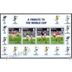 Gibraltar 1998 Mi BL 31 ** Piłka Nożna Francja Kolekcje