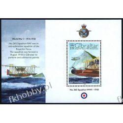 Gibraltar 2008 Mi BL 83 ** Samolot Lotnictwo RAF Kolekcje