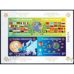 Bośnia i Hercegowina 2005 Mi BL 27 B ** Europa Cept Monety Flagi Kolekcje