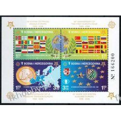 Bośnia i Hercegowina 2005 Mi BL 27 ** Europa Cept Monety Flagi Kolekcje