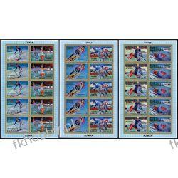Ajman 1971 Mi ark 1141-46 B ** Olimpiada Sapporo Rotary Kolekcje