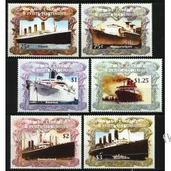 Grenada Grenadines 2004 Mi 4136-41 ** Titanic Statki Okręty Kolekcje