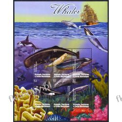 Grenada Grenadines 2002 ark 3814-19 * Wieloryby Kolekcje