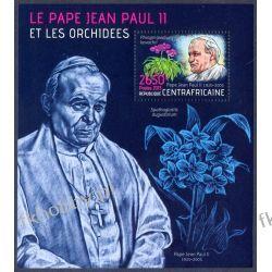 Rep Środkowoafrykańska 2013 BL 1071 ** Jan Paweł II Religia i Papież