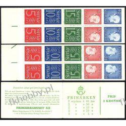Szwecja 1966 MH 12ab/B ** Czesław Słania Kolekcje
