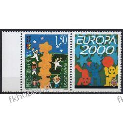 BiH Serbia 2000 Mi 167 zf ** Europa Cept Wspólne Filatelistyka