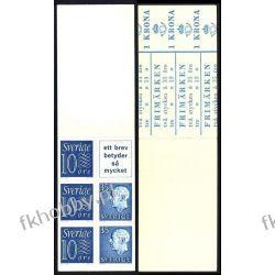 Szwecja 1962 MH 5 ab ** Czesław Słania 2 Filatelistyka