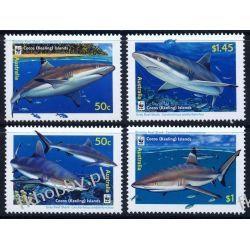 Wyspy Kokosowe 2005 Mi 420-23 ** WWF Rekin Ssaki