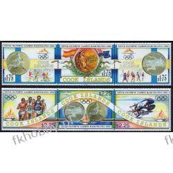 Wyspy Cooka 1992 Mi 1354-59 ** Olimpiada Barcelona Kolekcje