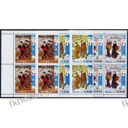 Czad 1970 Mi 352-54 x4 ** Olimpiada Saporro Kolekcje