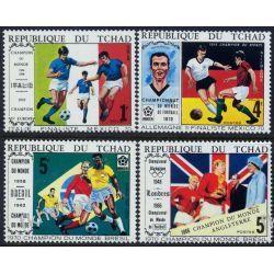 Czad 1970 Mi 309-12 ** Sport Piłka Nożna Kolekcje