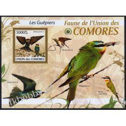 Komory 2009 Mi BL 514 ** Ptaki Ptak Fauna
