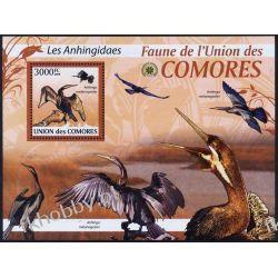 Komory 2009 Mi BL 518 ** Ptaki Ptak Ptaki