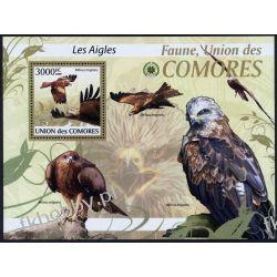 Komory 2009 Mi BL 520 ** Ptaki Ptak Fauna