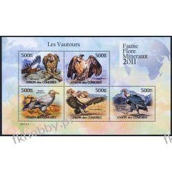 Komory 2011 Mi ark 3028-32 ** Ptaki Ptak Sęp Fauna
