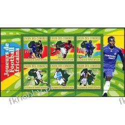 Komory 2010 Mi ark 2831-36 ** Piłka Nożna
