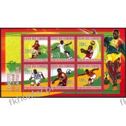 Komory 2010 Mi ark 2838-43 ** Piłka Nożna