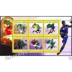 Komory 2010 Mi ark 2845-50 ** Piłka Nożna