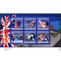 Komory 2010 Mi ark 2914-19 ** Olimpiada Londyn