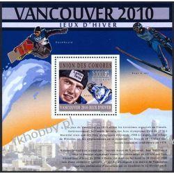 Komory 2010 Mi BL 606 ** Olimpiada Vancouver