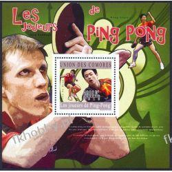 Komory 2010 Mi BL 594 ** Tenis Stołowy