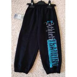 """Spodnie sportowe  """"athletic"""" czarne AJS"""