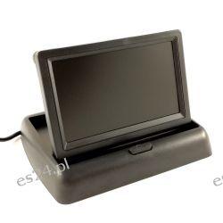 """Samochodowy składany monitor LCD kamery cofania 4,3""""  Konsole"""
