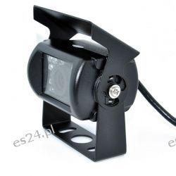 Nowa kamera cofania 18 diod IR bus koparka kombajn kabel 10m Konsole