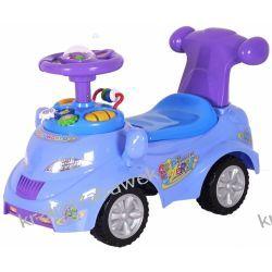 Pojazd, pchać, samochód niebieski