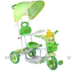 Rowerek trójkołowy zielony żabka