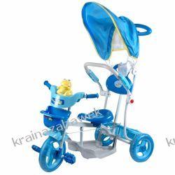 Rowerek trójkołowy niebieski żabka