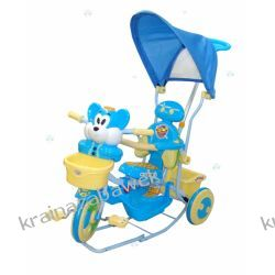 Rowerek trójkołowy 2830AC blue