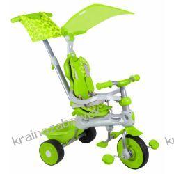 Rowerek trójkołowy 3w1 zielony BABY TRIKE