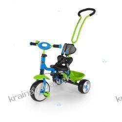 Rowerek trójkołowy BOBY niebiesko-zielony
