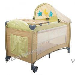 Łóżeczko podróżne DREAM brązowe Pokój dziecięcy