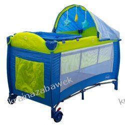 Łóżeczko podróżne DREAM nieieskie Pokój dziecięcy