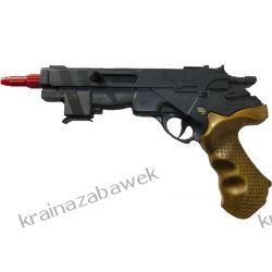 Zestaw pistolet na naboje gumowe BOB LAWSON 32cm
