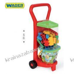Wader 10777 Wózek z Klockami