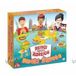 Gra rodzinna Dzieci kontra rodzice: smaki świata