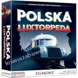 POLSKA LUXTORPEDA GRA RODZINNA + DODATEK GRATIS Gry