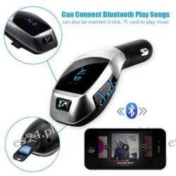 Transmiter FM Bluetooth AD2P MP3 USB SD Pilot