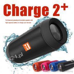 Głośnik Charge 2+ Bluetooth Mobilny USB MP3 AUX Radio Głośniki przenośne