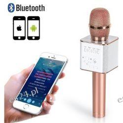 Mikrofon Karaoke Głośnik Bluetooth Sd Usb