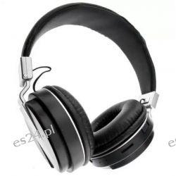 Słuchawki Bluetooth MP3 RADIO FM Mikrofon SD Czarne