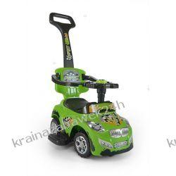 Jeździk Pojazd Happy 3 W 1 Zielony Rowery i pojazdy